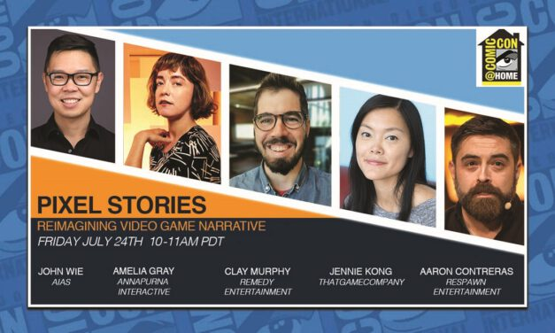 SDCC 2020: Pixel Stories – Reimagining Video Game Narrative