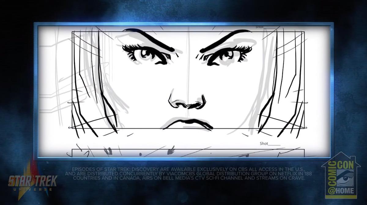 Star Trek Discovery Panel storyboard 1