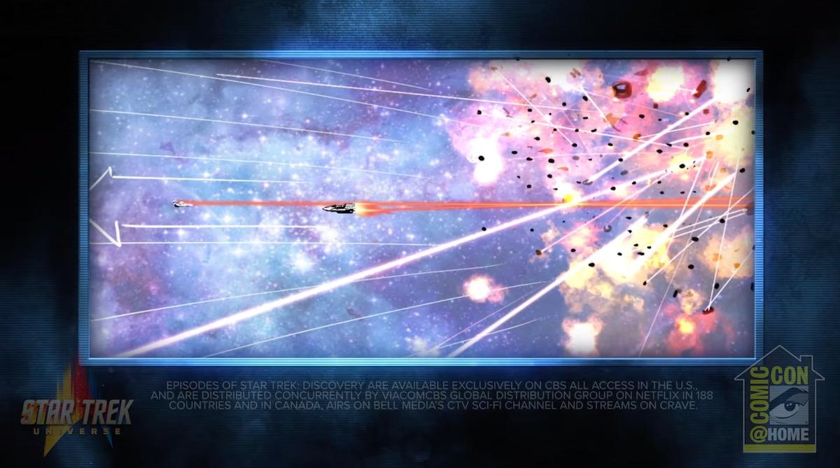 Star Trek Discovery Panel storyboard 2