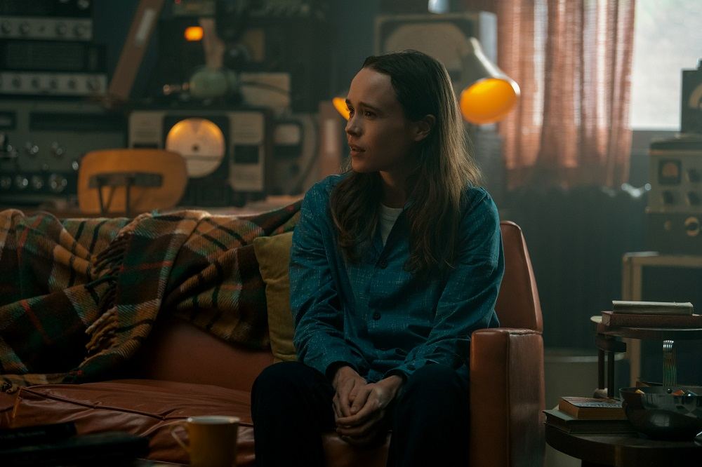 Still of Ellen Page in The Umbrella Academy.