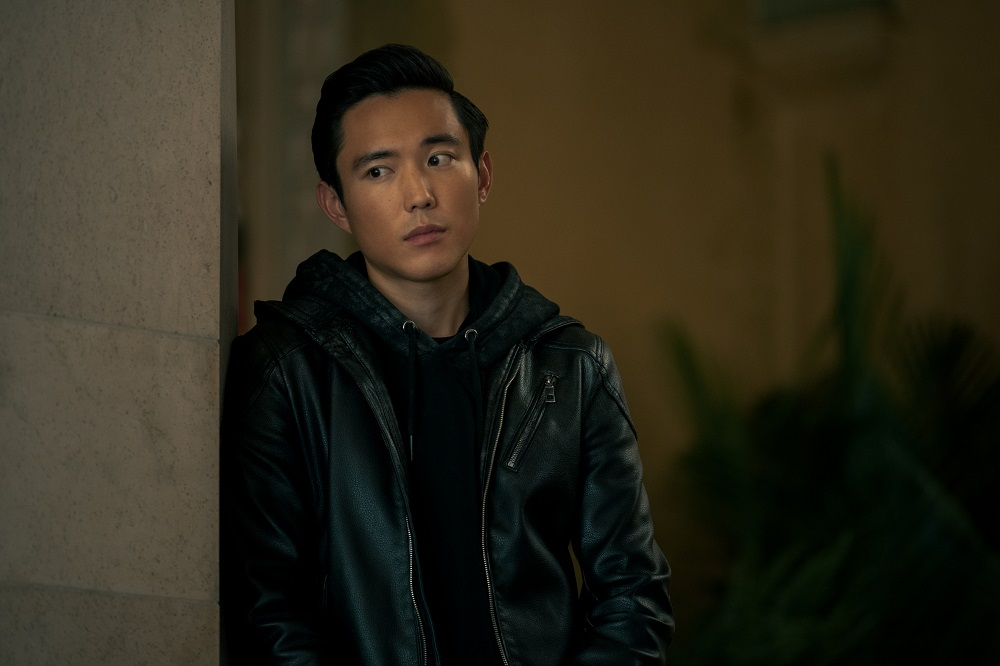 Still of Justin Min in The Umbrella Academy.