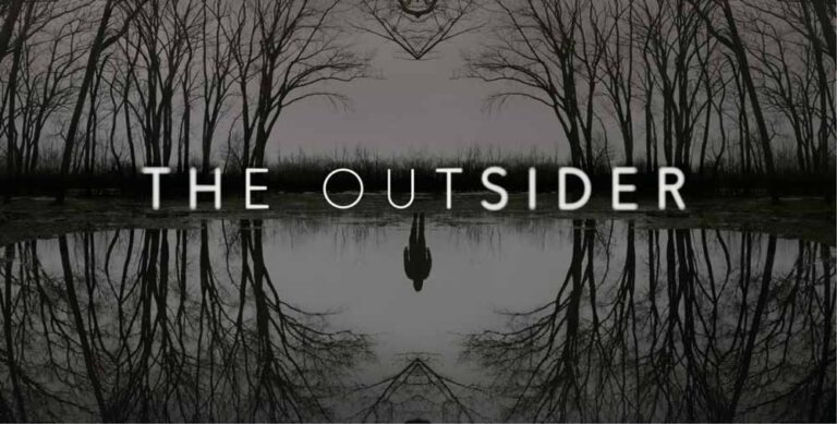Poster art for HBO's The Outsider from Stephen King