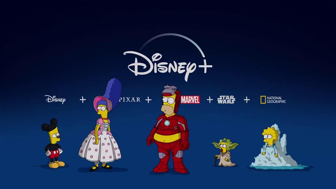 The Simpsons on Disney Plus