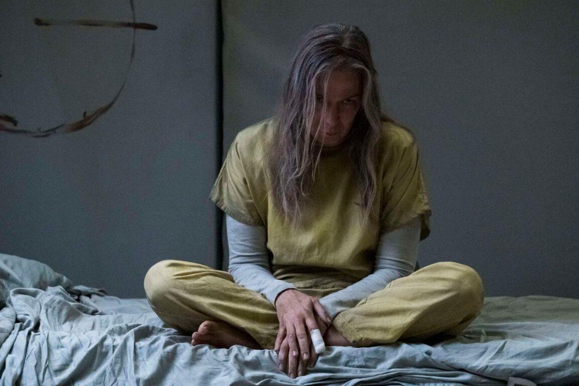Elizabeth Marvel as Victoria Helstrom in Marvel's Helstrom