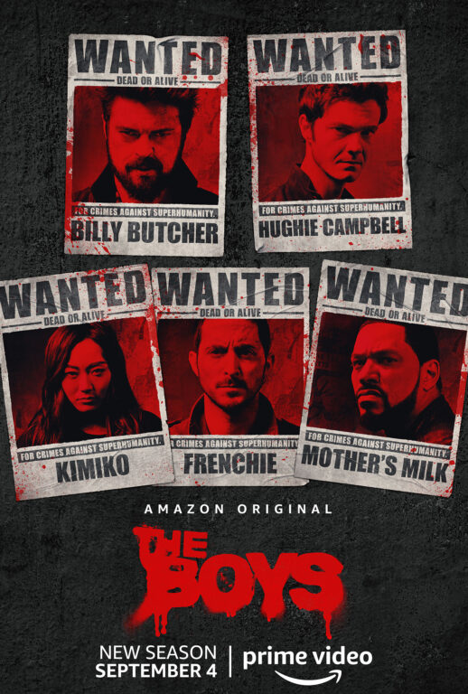 The Boys are American's Most Wanted in Season 2