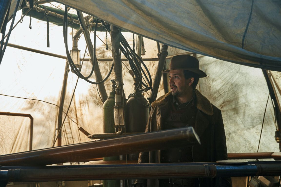 Lin-Manuel Miranda in HBO's His Dark Materials Season Two