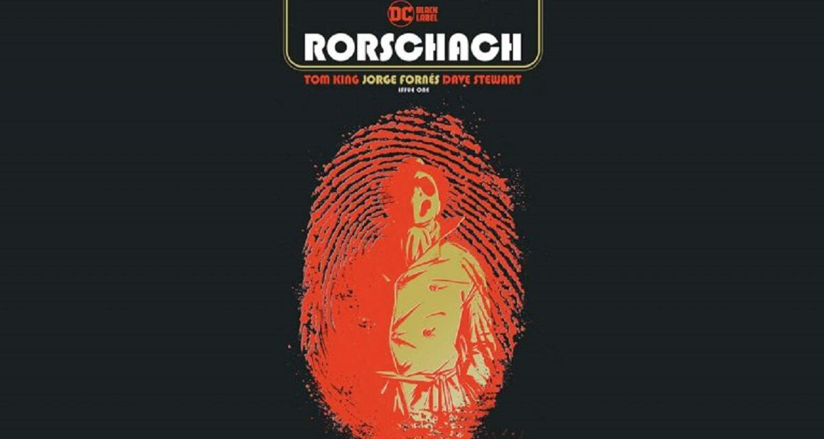 Rorschach to Get His Own DC Comic Book Miniseries