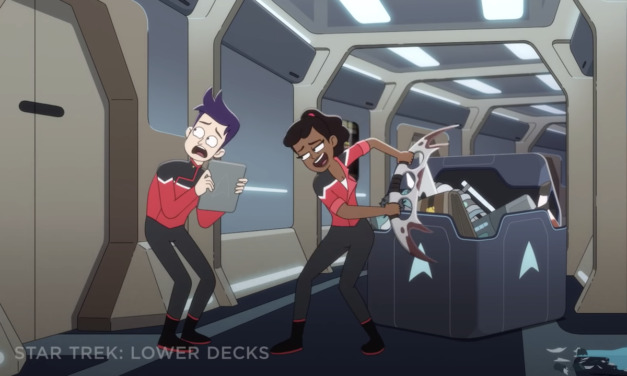 SDCC 2020: STAR TREK: LOWER DECKS Hilarious First Look Shows Importance of 'Second Contact' and Bat'leth Safety