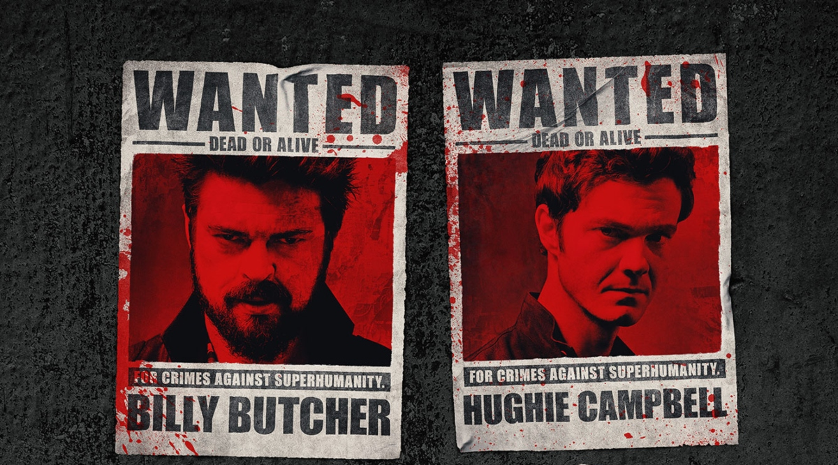 Amazon Prime's THE BOYS Are America's Most Wanted in Season 2 Poster