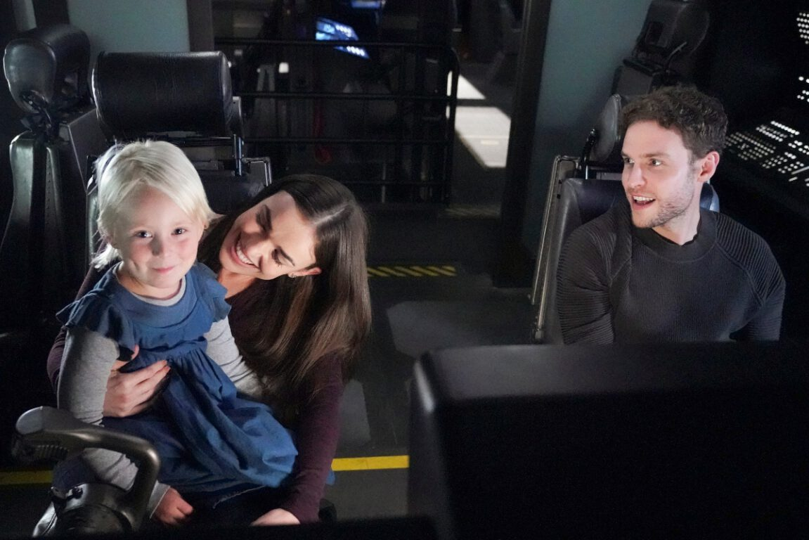 FitzSimmons introduce their daughter Alya on Agents of S.H.I.E.L.D.