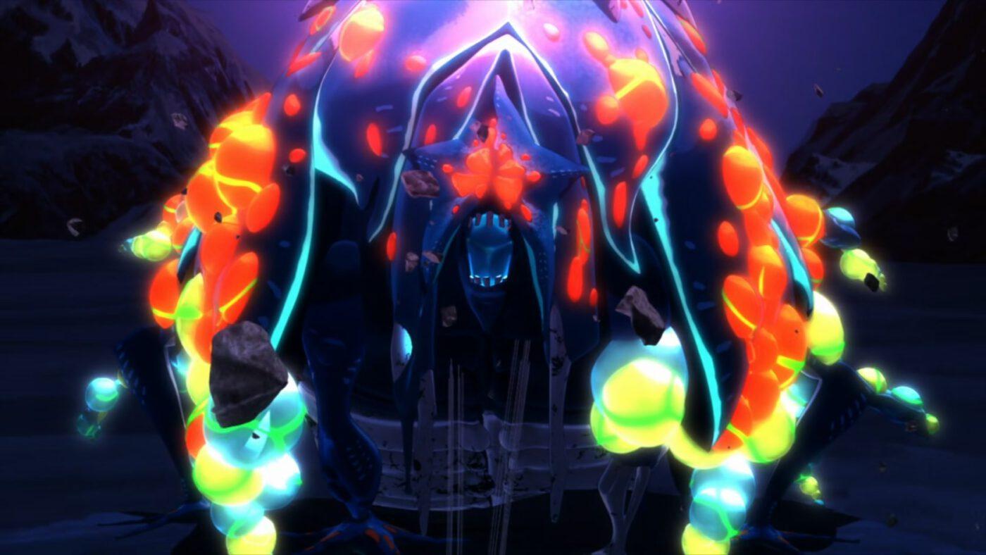 the Stargate monster (Deca-Dence, season 1 episode 5)