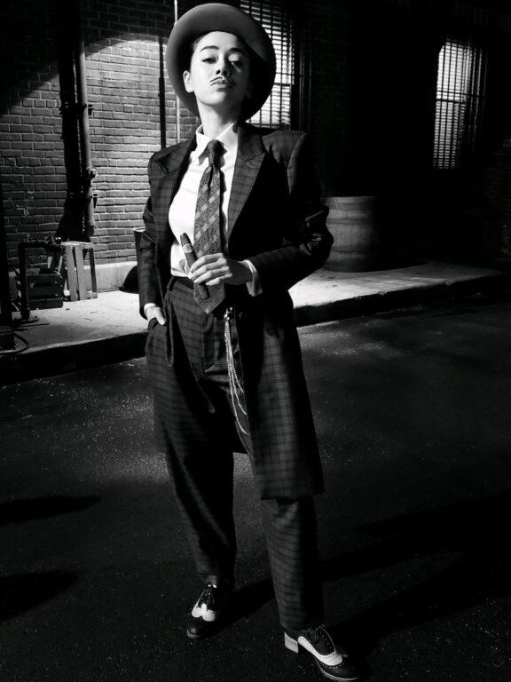 Aimee Garcia as Mr. Stompanato in Lucifer