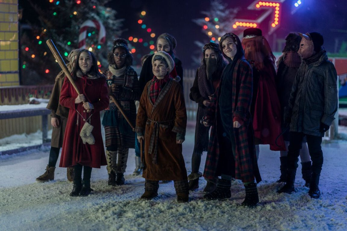 The kids play Scissors for the Drifters on NOS4A2