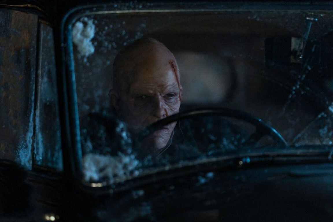 Charlie Manx behind the wheel of the Wraith on NOS4A2