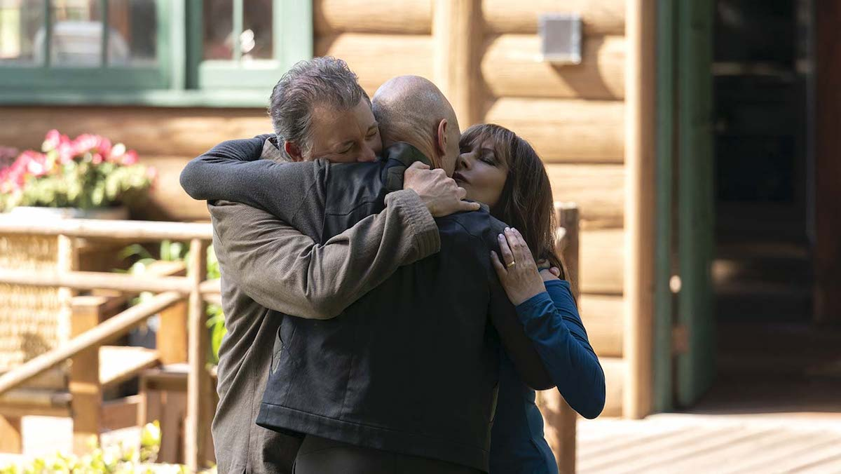 Riker, Troi and Picard reunite in Star Trek Picard episode, Nepenthe