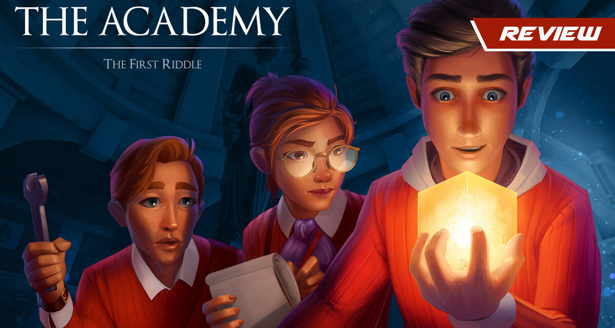 GGA Game Review: THE ACADEMY: THE FIRST RIDDLE Is a Puzzle-Fest Without Much Depth