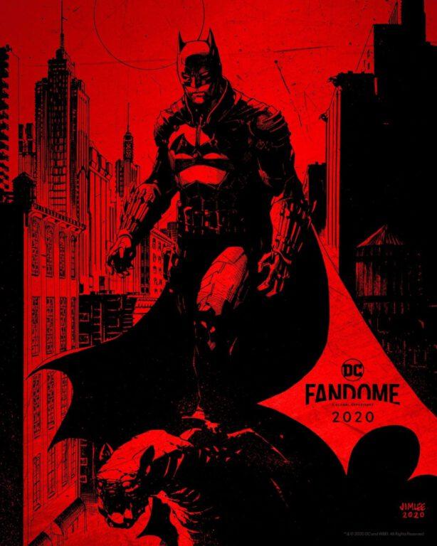 The Batman Artwork for DC FanDome