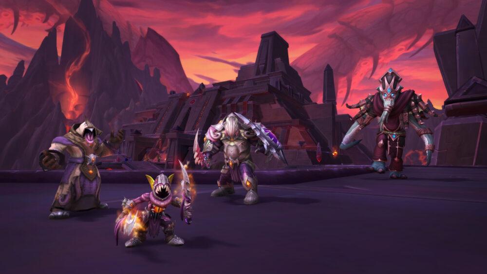 Ny'alotha the Waking City raid in World of Warcraft
