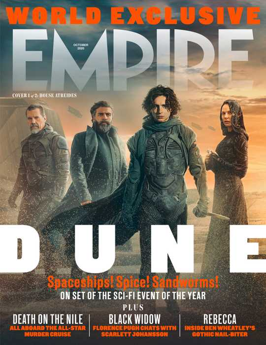 The Atreides from Dune cover for Empire Magazine October 2020.