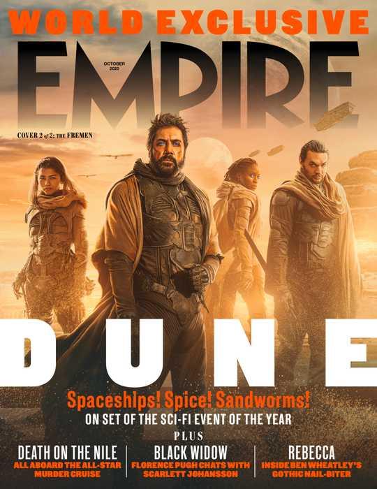The Fremen of Dune Empire Magazine cover October 2020.