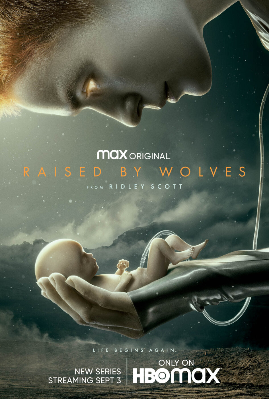 Ridley Scott's Raised by Wolves poster