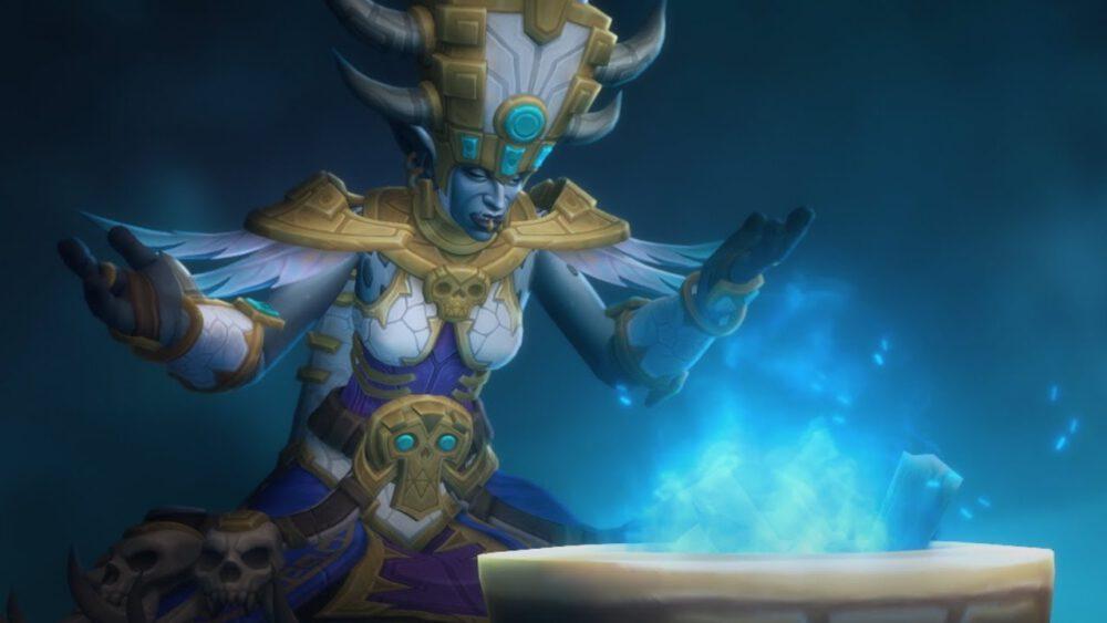 Talanji summoning Rezan to help escape from Stormwind.