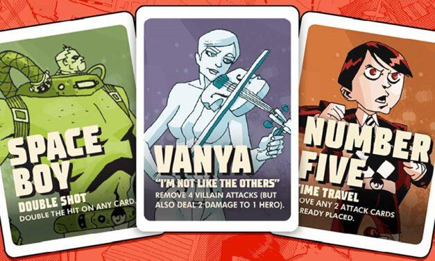 GGA Game Review: THE UMBRELLA ACADEMY Card Game