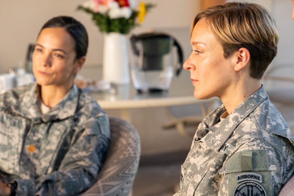 Alice Braga and Chloë Sevigny in new HBO series, We Are Who We Are.