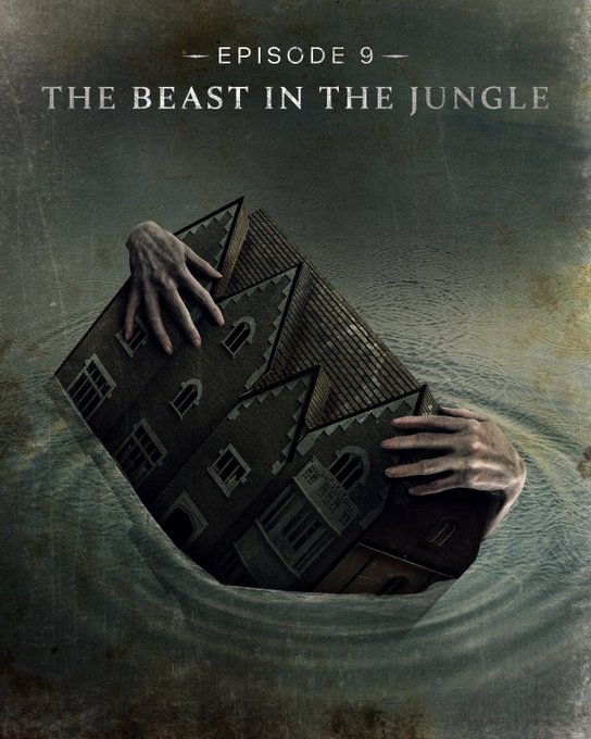 Episode 9, The Beast in the Jungle,  title card..