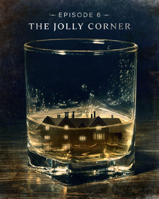 Episode 6, The Jolly Corner, title card for The Haunting of Bly Manor.
