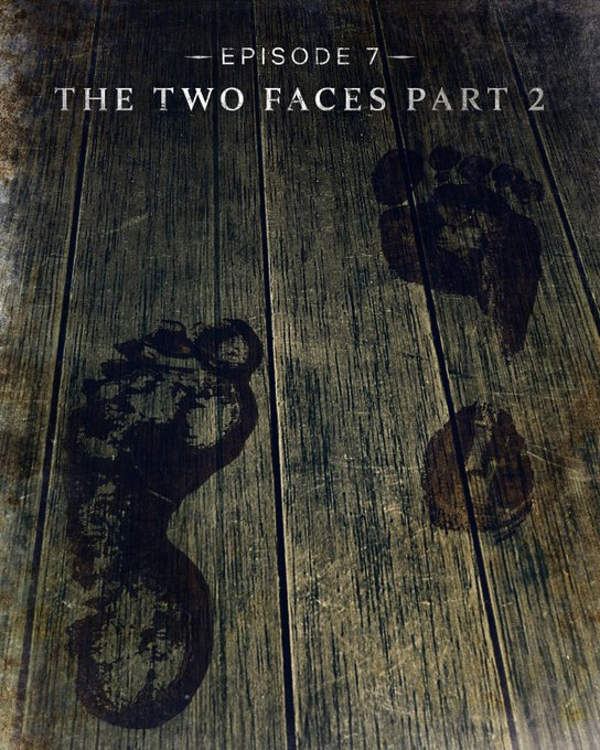 Episode 7, The Two Faces Part 2, title card for The Haunting of Bly Manor.