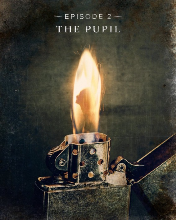 Episode 2, The Pupil, title card for The Haunting of Bly Manor.