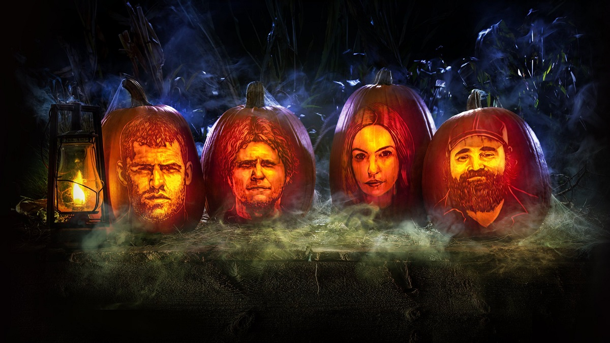 """Promotional photo for Letterkenny's Halloween episode, """"The Haunting of MoDean's II"""""""