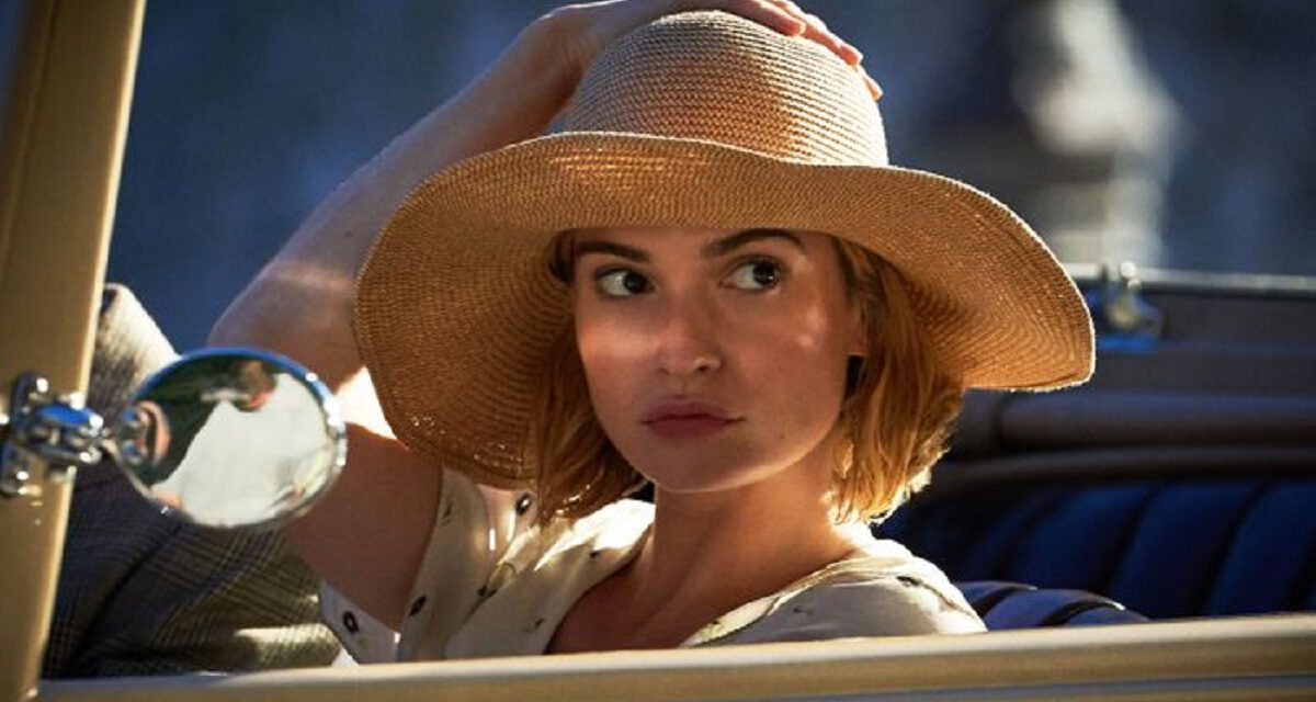 Lily James Competes With a Ghost in Official Trailer for REBECCA