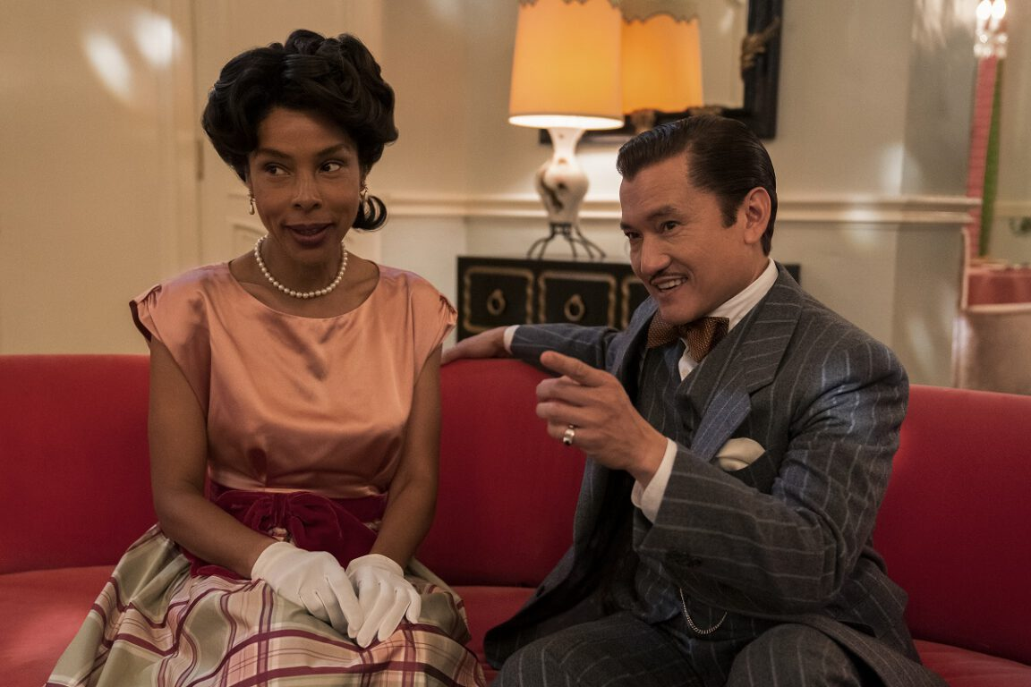 Still of Sophie Okonedo as Charlotte Wells and Jon Jon Briones as Dr. Hanover.