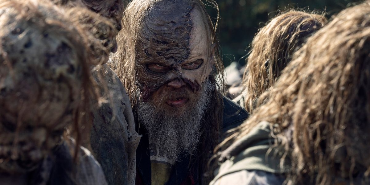 Beta leads his horde on The Walking Dead