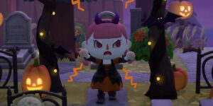 The new fall update is bringing Halloween to Animal Crossing New Horizons.