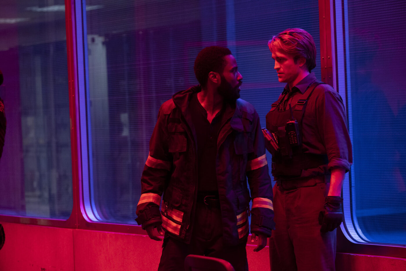 John David Washington, Robert Pattinson in Tenet