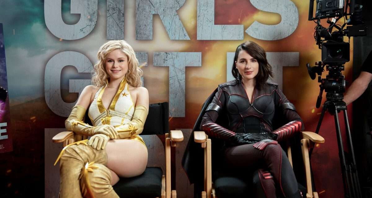 The Girls of THE BOYS Get It Done in Virtual Press Junket
