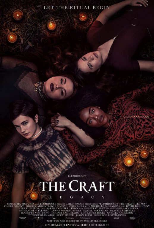 The Craft: Legacy poster features the new coven.