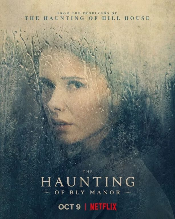 Amelia Eve's character poster for The Haunting of Bly Manor