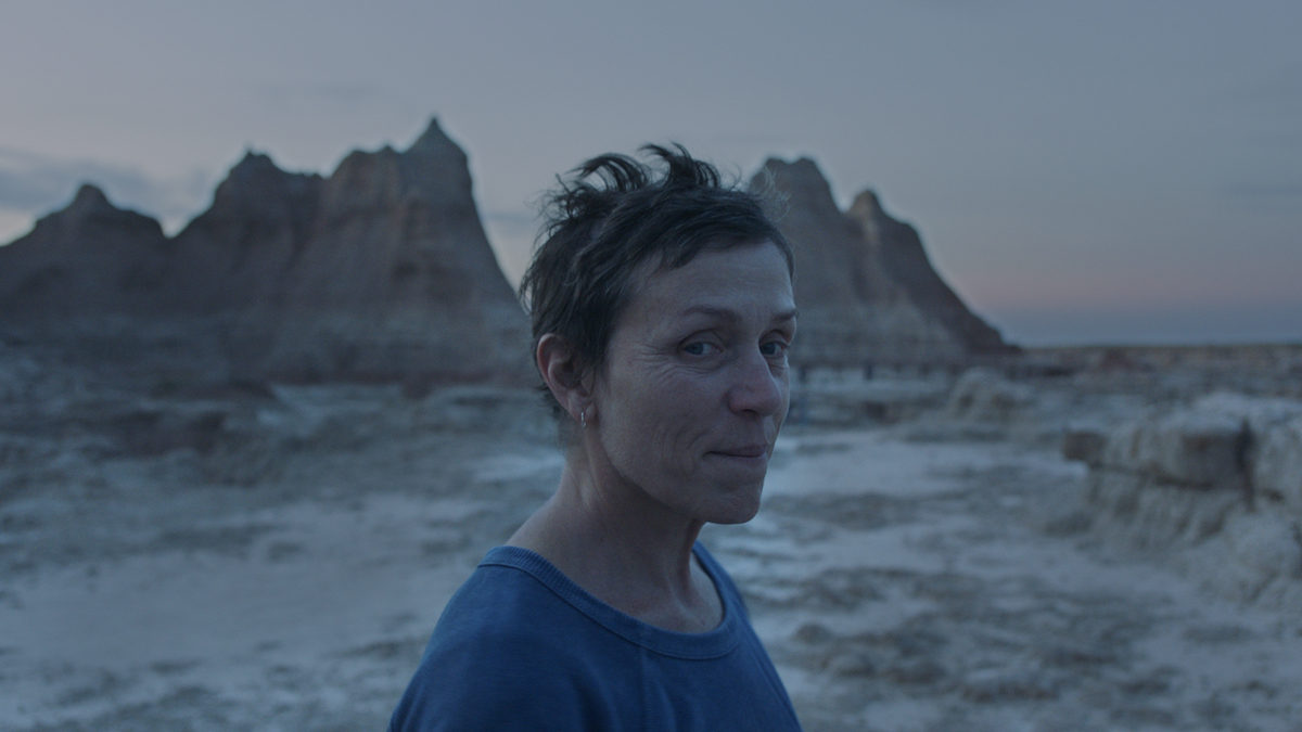 Frances McDormand stars in Nomadland