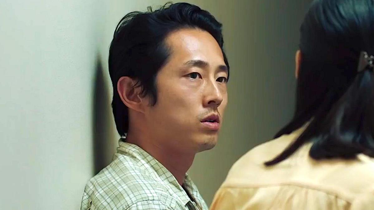 Steven Yeun stars in Minari.