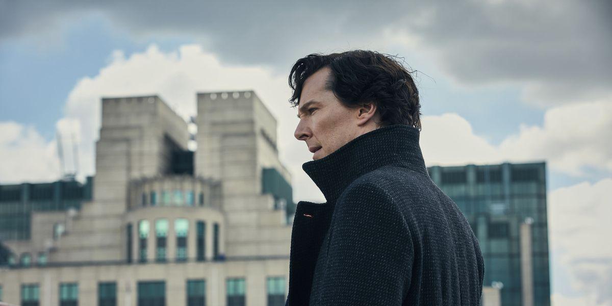 Still of Benedict Cumberbatch in BBC Sherlock
