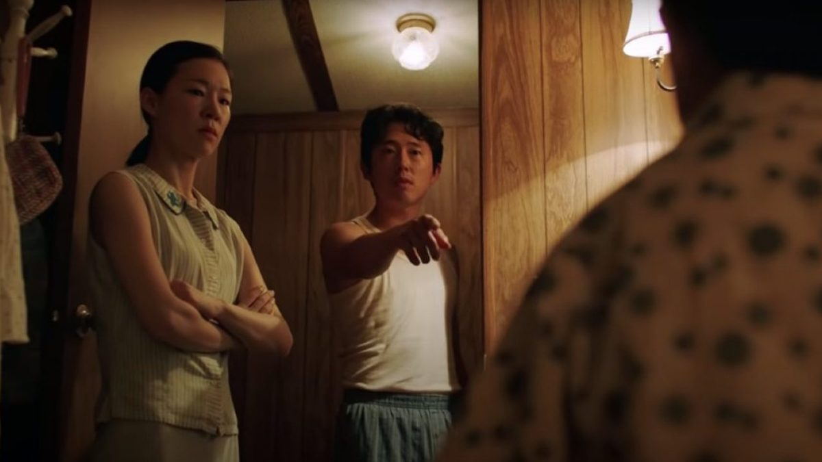 Steven Yeun and Yeri Han star in Minari