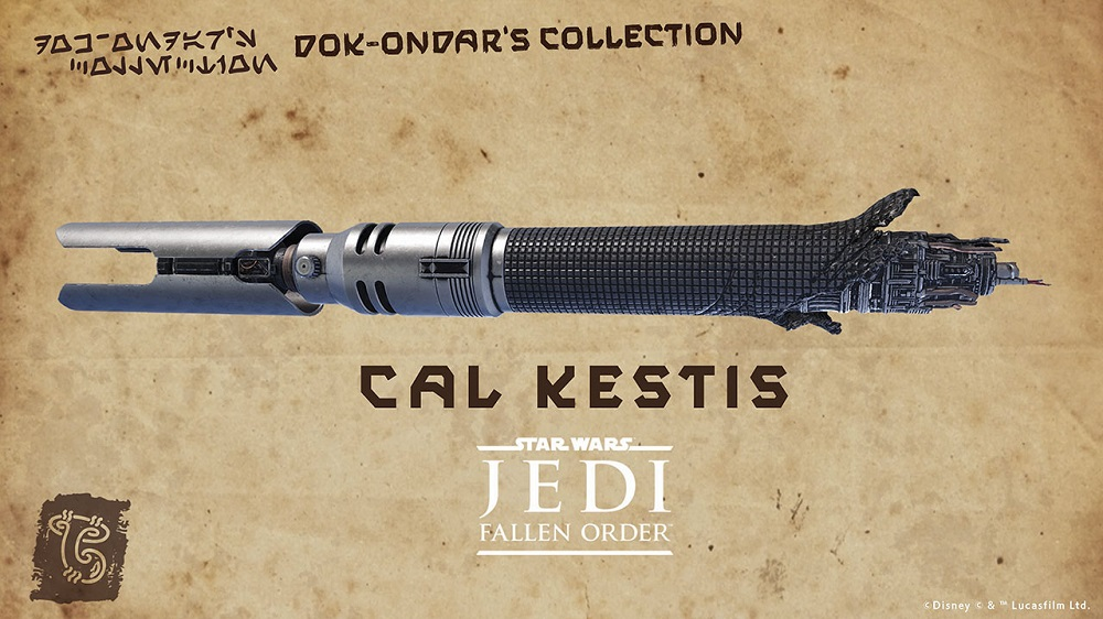 Coming in 2021 to Galaxy's Edge: Cal Kestis' ligthtsaber
