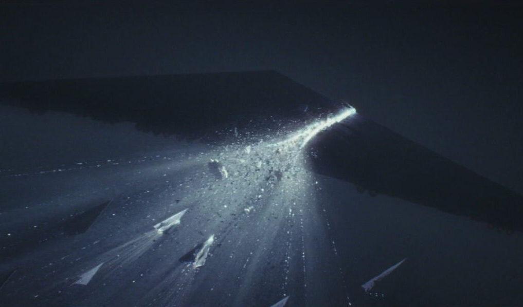 Star Wars The Last Jedi lightspeed collision