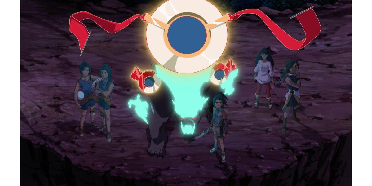 Izel and his companions. (Onyx Equinox, Dark Trailer)