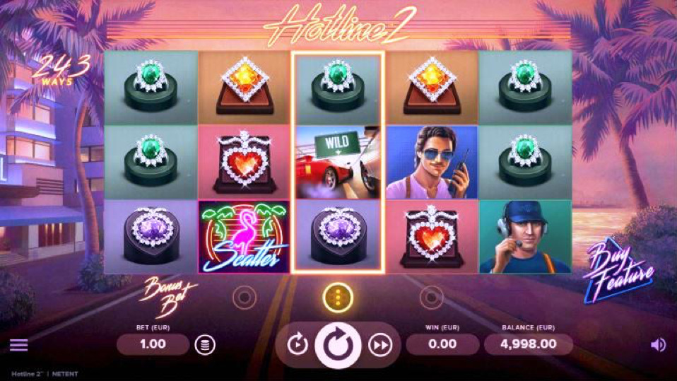 Hotline 2 Online Slot Machine Game Review