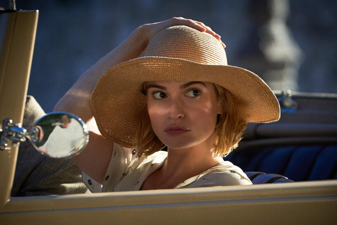 Lily James stars in Rebecca